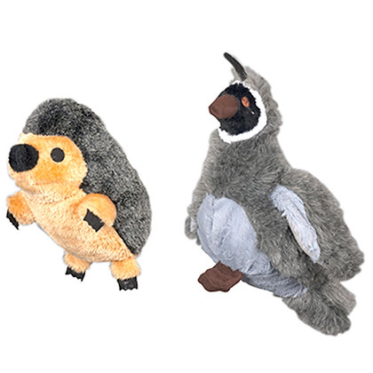 Bird or hedgehog plush