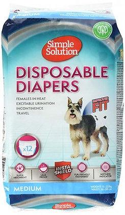 Disposable Diapers - Medium