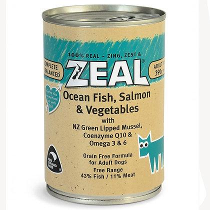 Zeal - Ocean Fish, Salmon & Vegetables (390g)