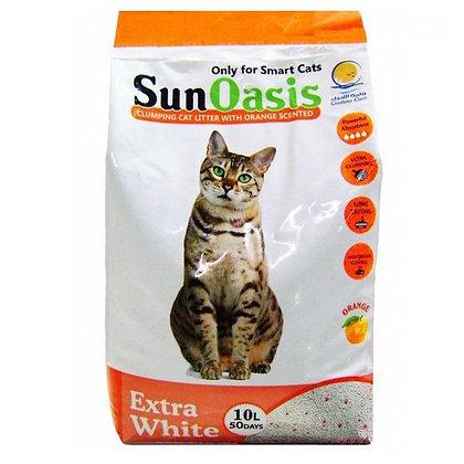 SUNOASIS CLUMPING CAT LITTER 10L