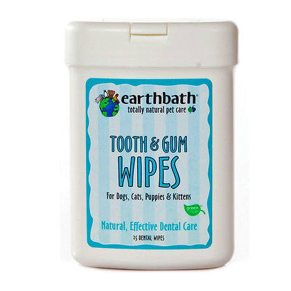 Tooth & Gum Wipes With Lite Peppermint Flavor 25pcs