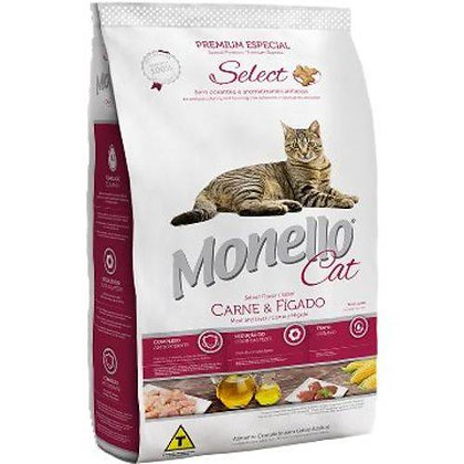 Monello Adult Cat Food Meat and Liver Flavor
