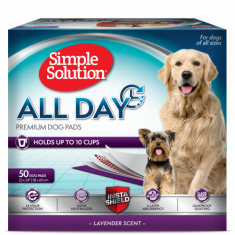 All Day 6-Layer Premium Dog Pads, 23 X 24 In