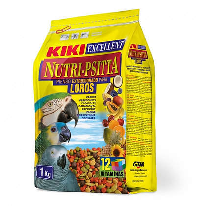 Kiki Excellent Nutri-Psitta For Parrots 1Kg