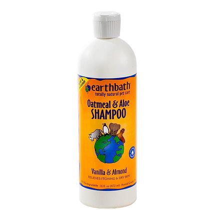 Oatmeal & Aloe Shampoo Vanilla Almond Scent 16oz