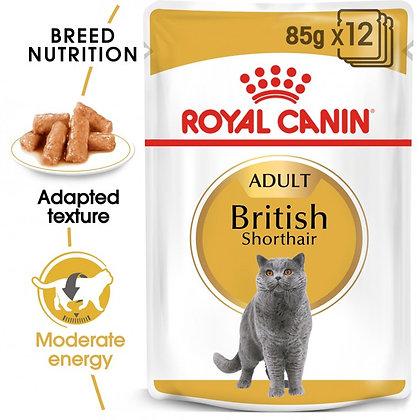 WET FOOD - Feline Health Breed nutrition British Shorthair (12 x 85g)