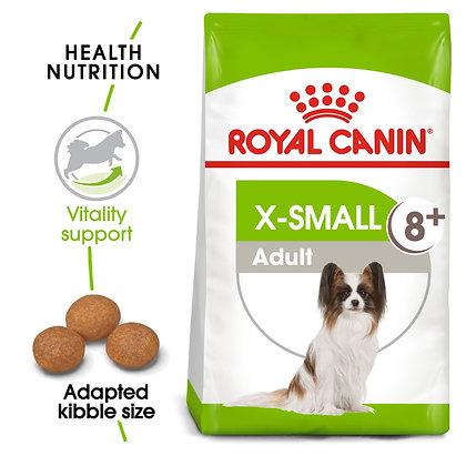 SIZE HEALTH NUTRITION XS ADULT 8+ 1.5 KG
