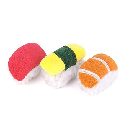 Feline Frenzy Plush Toy Collection SASSY SUSHI