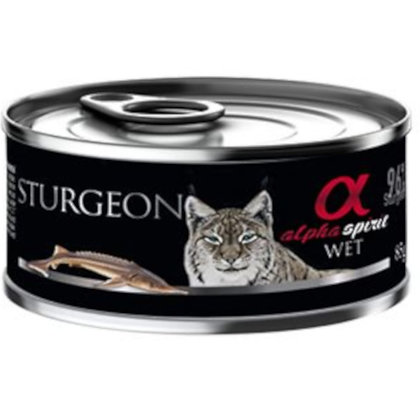 Wet Food STURGEON For Cats 85g