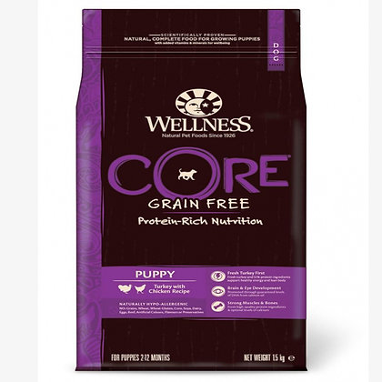 Wellness Core Puppy Turkey with Chicken Recipe 1.5 kg
