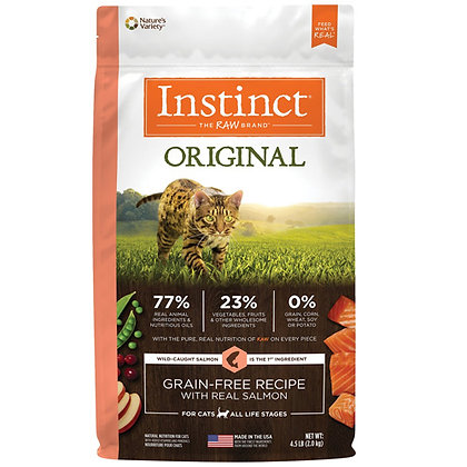 Instinct Original Recipe Cat Dry Food with Real Salmon 2kg