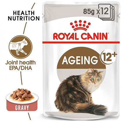 WET FOOD - AGEING +12 Years (12 x 85g)
