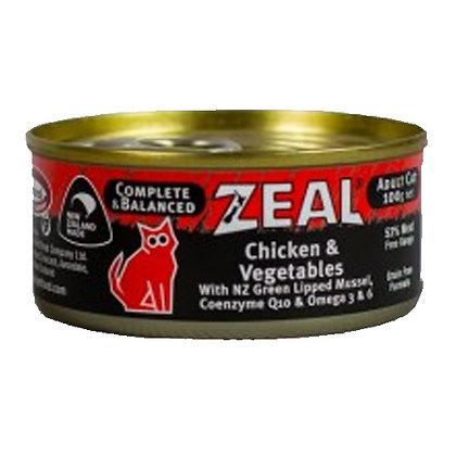 Zeal - Chicken & Vegetable 100g