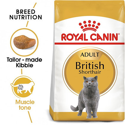 FELINE BREED NUTRITION BRITISH SHORTHAIR 4 KG