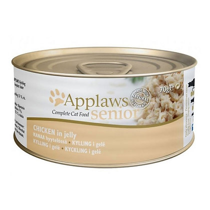 Applaws Cat Senior Chicken Jelly 70g Tin