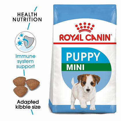 SIZE HEALTH NUTRITION MINI PUPPY 2 KG