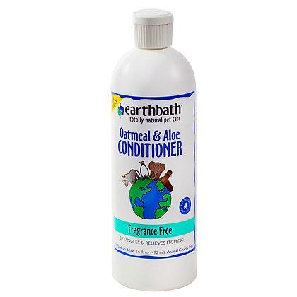 Oatmeal & Aloe Conditioner, Fragrance Free 16oz