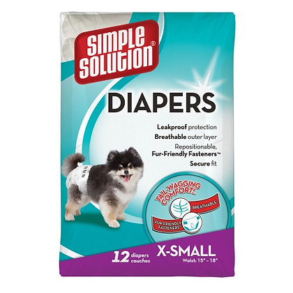 Disposable Diapers - X Small