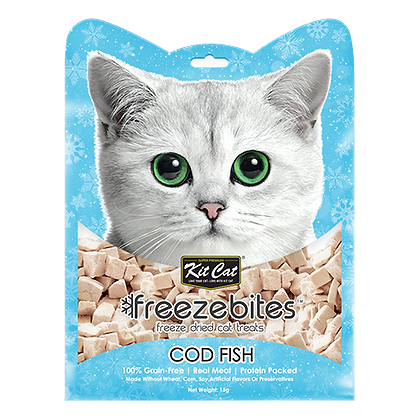 Freezebites Dried Codfish 15g