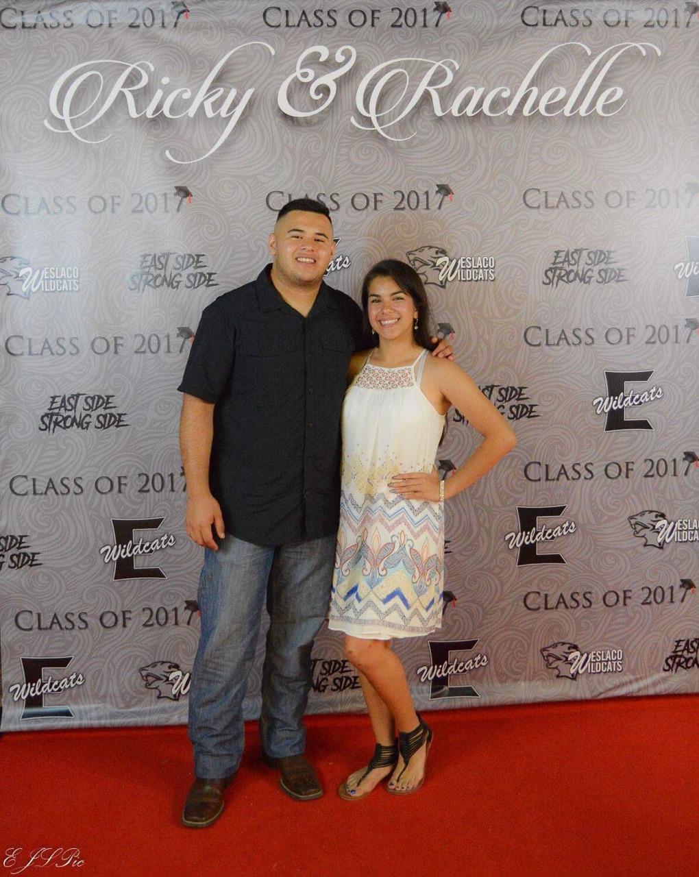 Rachelle & Ricky Grad Banner
