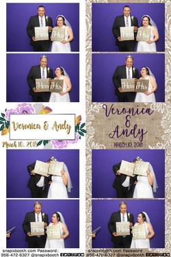 Veronica & Andy Wedding
