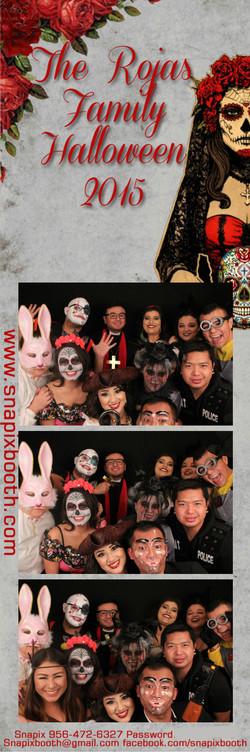 The Rojas Family Halloween 2015