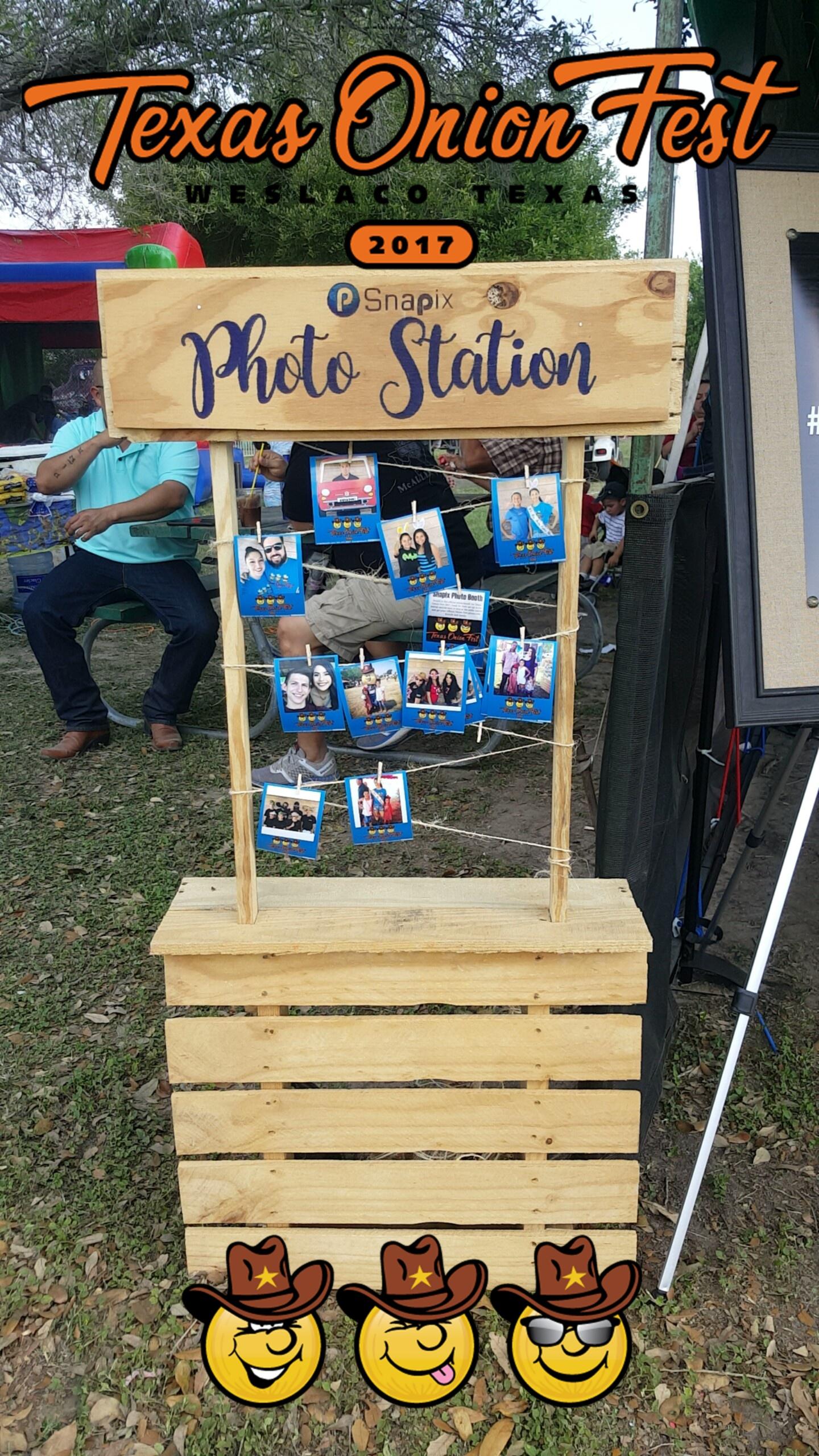 Texas Onion Fest Snapchat Filter