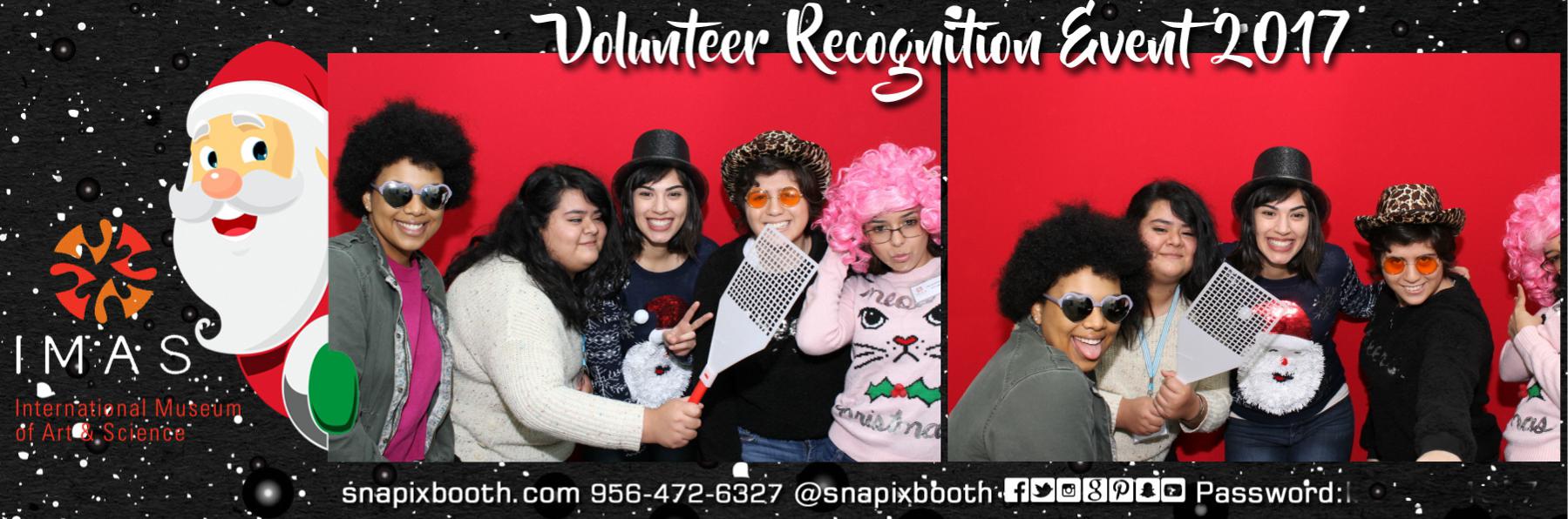 IMAS Volunteer Recognition
