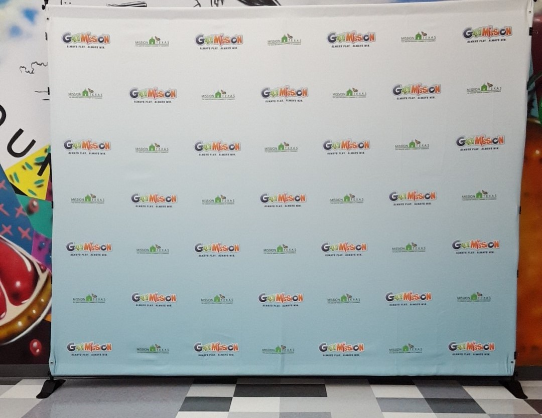 Go Mission Fabric Banner