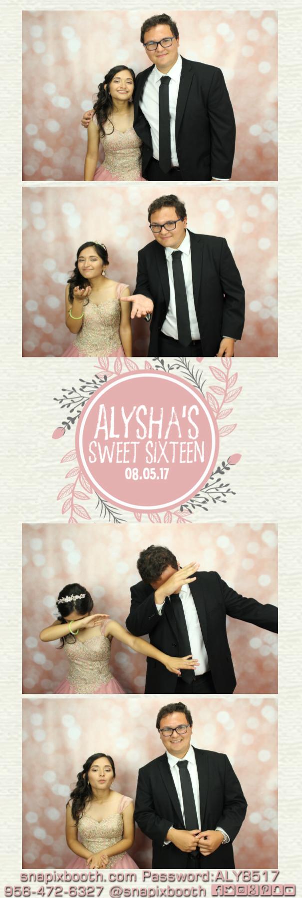 Alysha's Sweet Sixteen