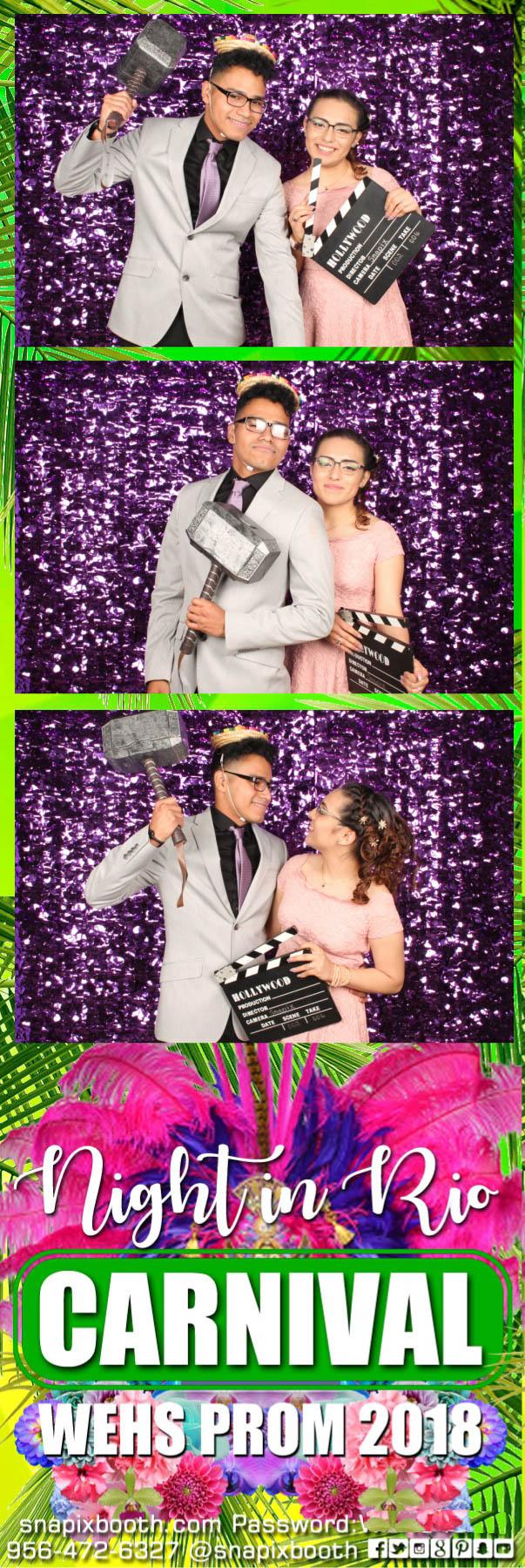Weslaco East Prom 2018