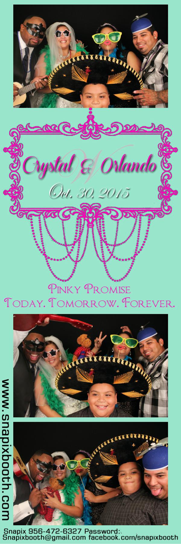 Crystal & Orlando Wedding