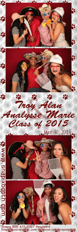 Troy & Analyse Graduation Party