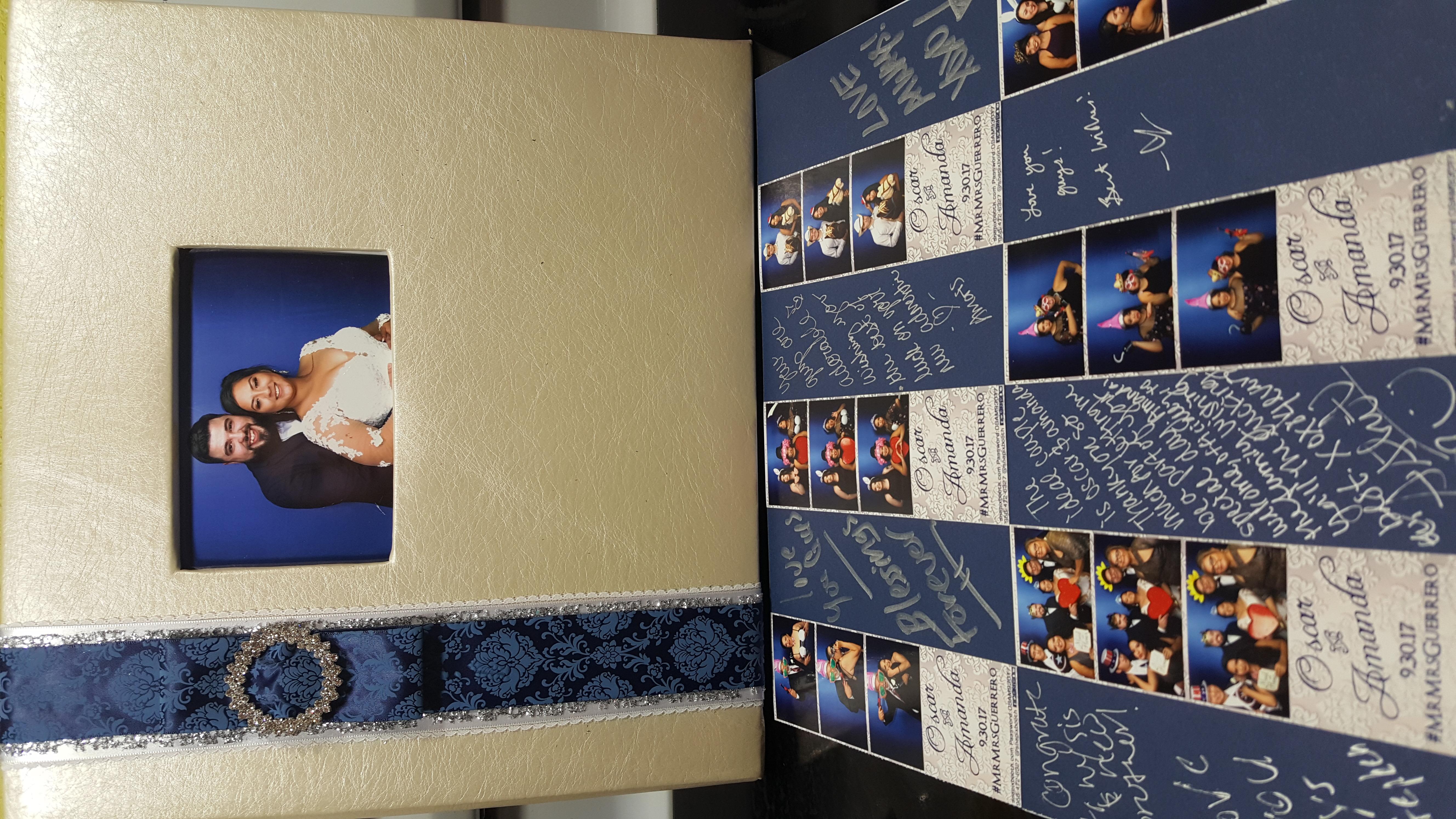 Wedding Photo Booth Scrapbook