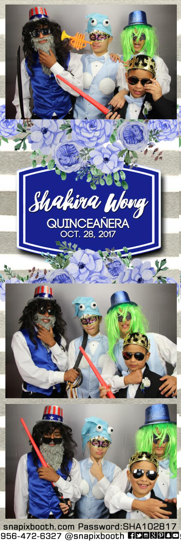 Shakira's Quinceanera