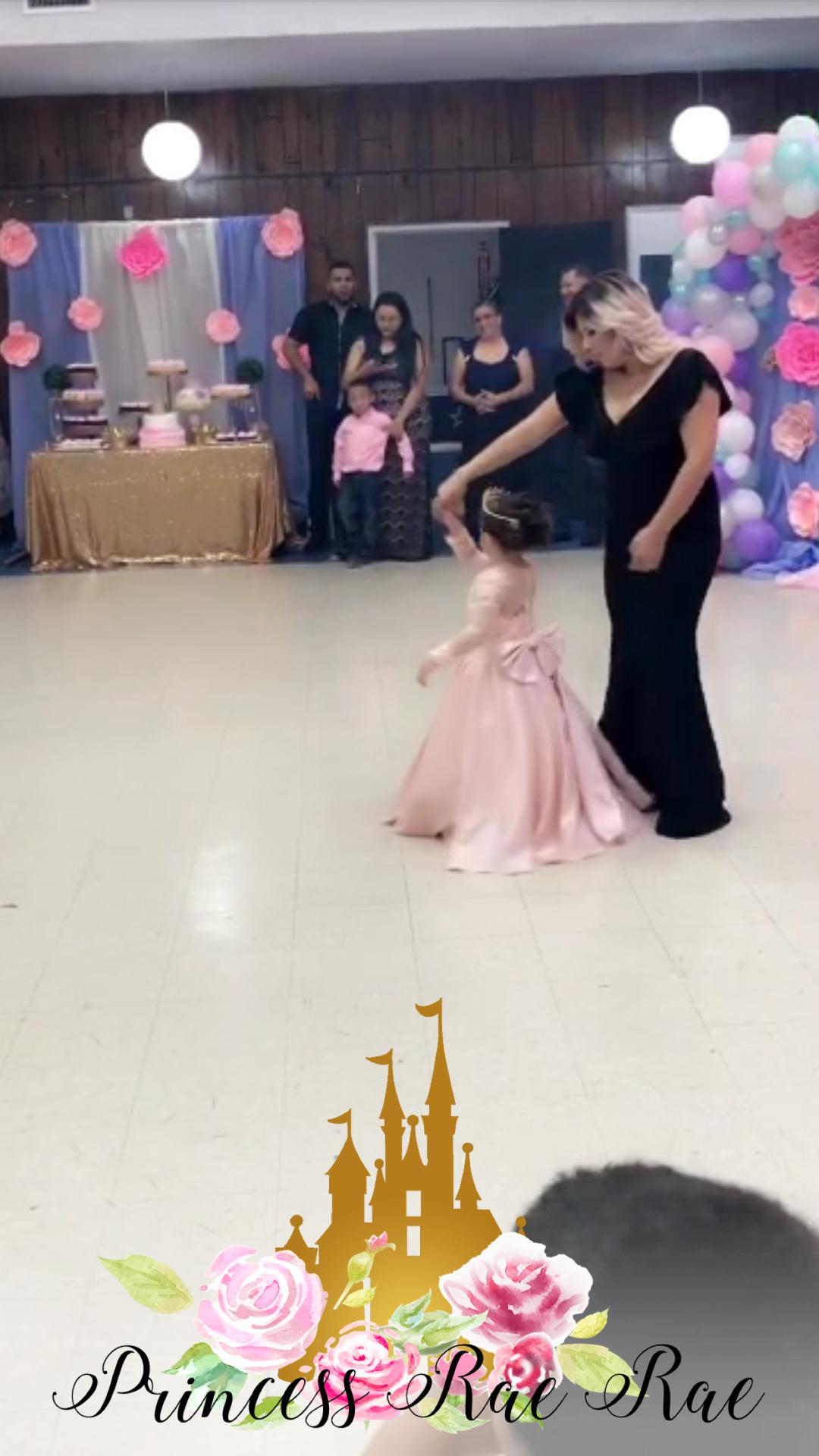 Princess 5th Birthday Party Filter
