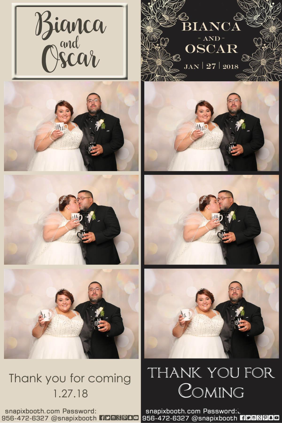 Bianca & Oscar Wedding
