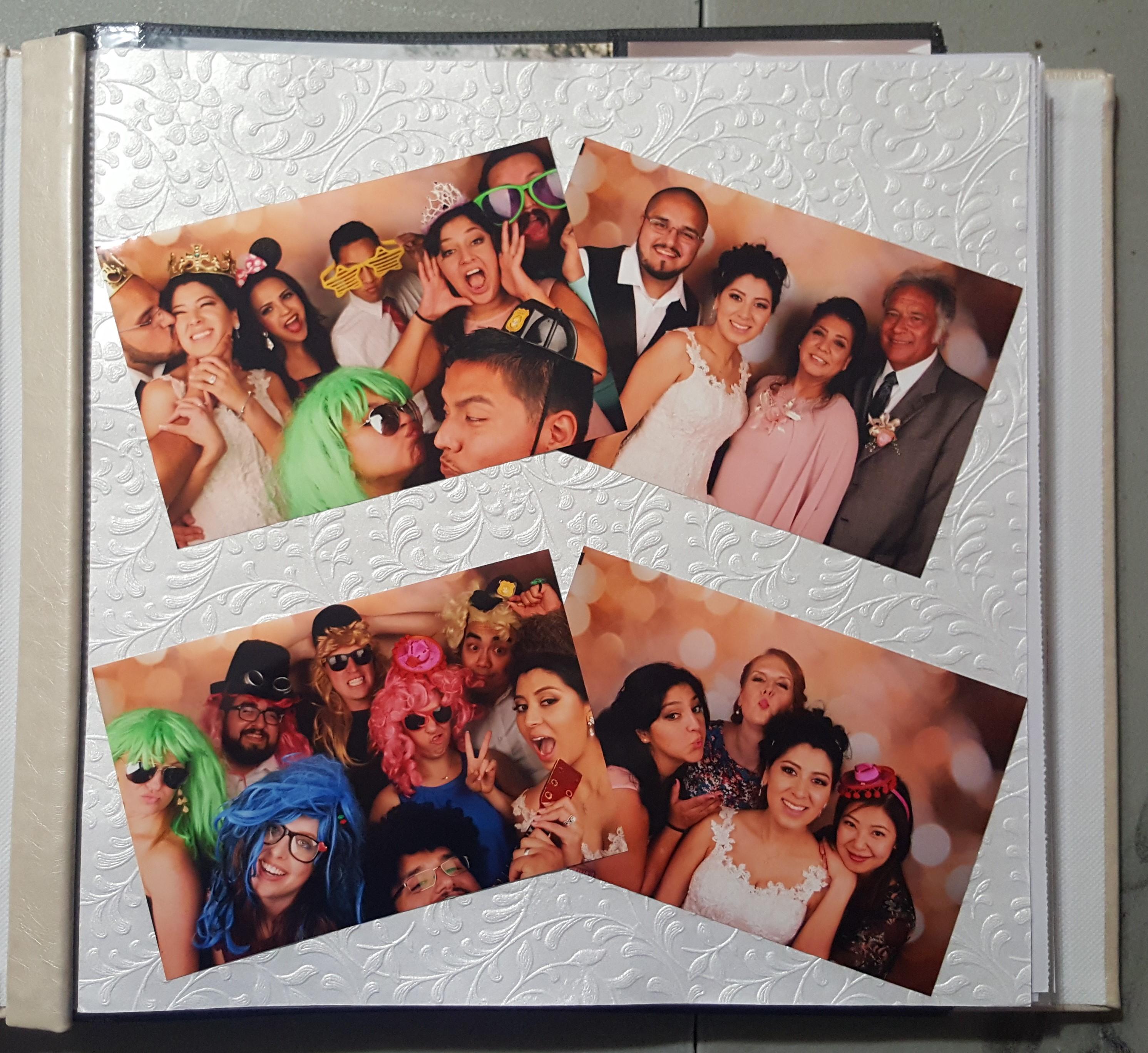 Photo Booth Scrapbooks