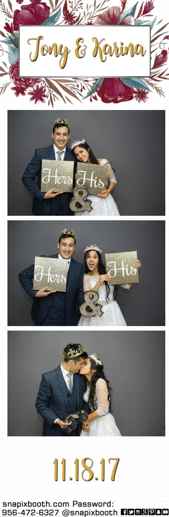 Tony & Karina Wedding