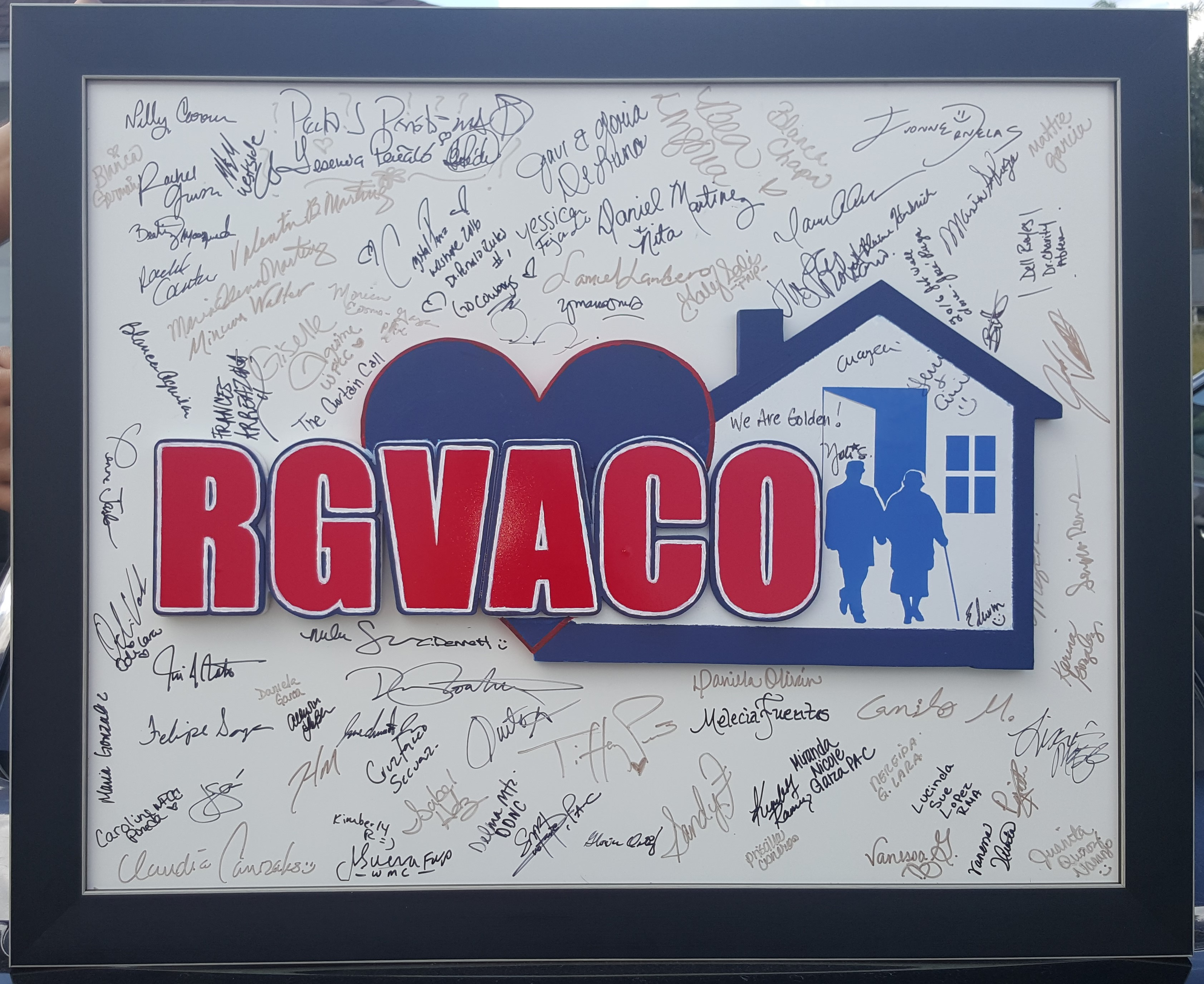 RGVACO Wooden Initial