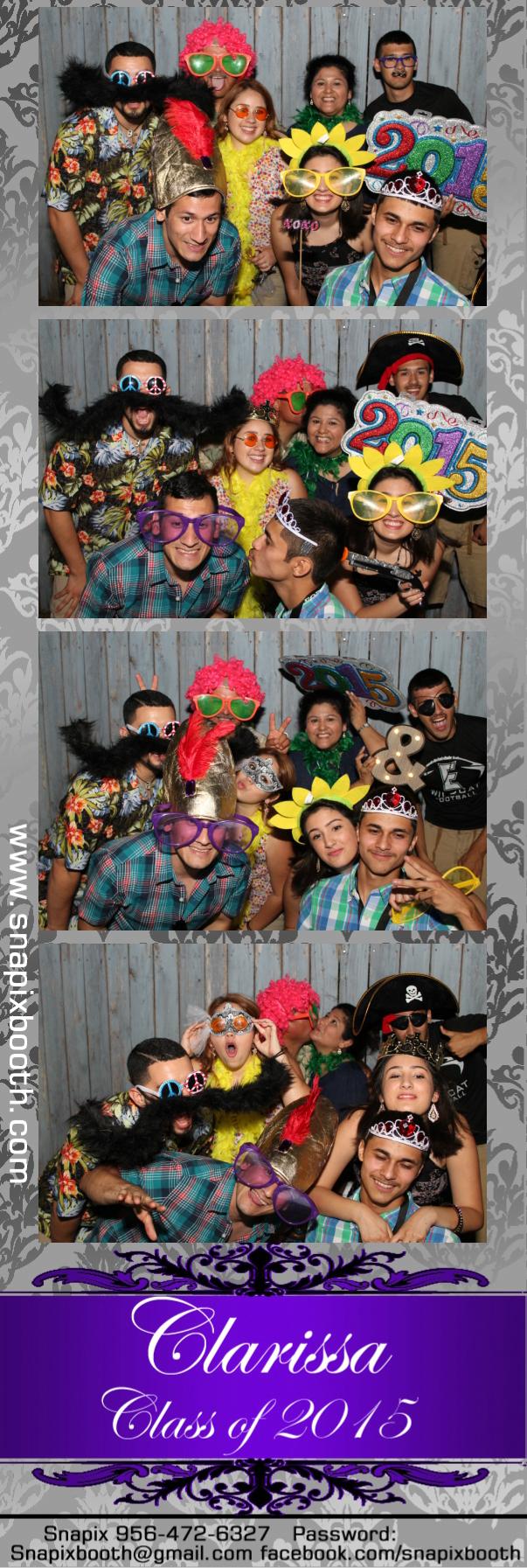 Clarissa's Graduation Party