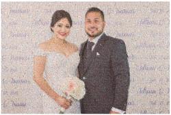 Wedding Photo Mosaics