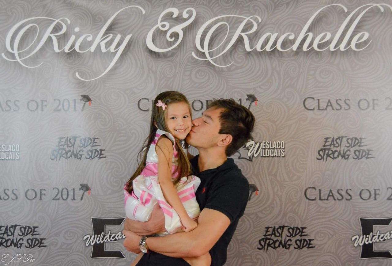 Ricky & Rachelle Graduation Banner