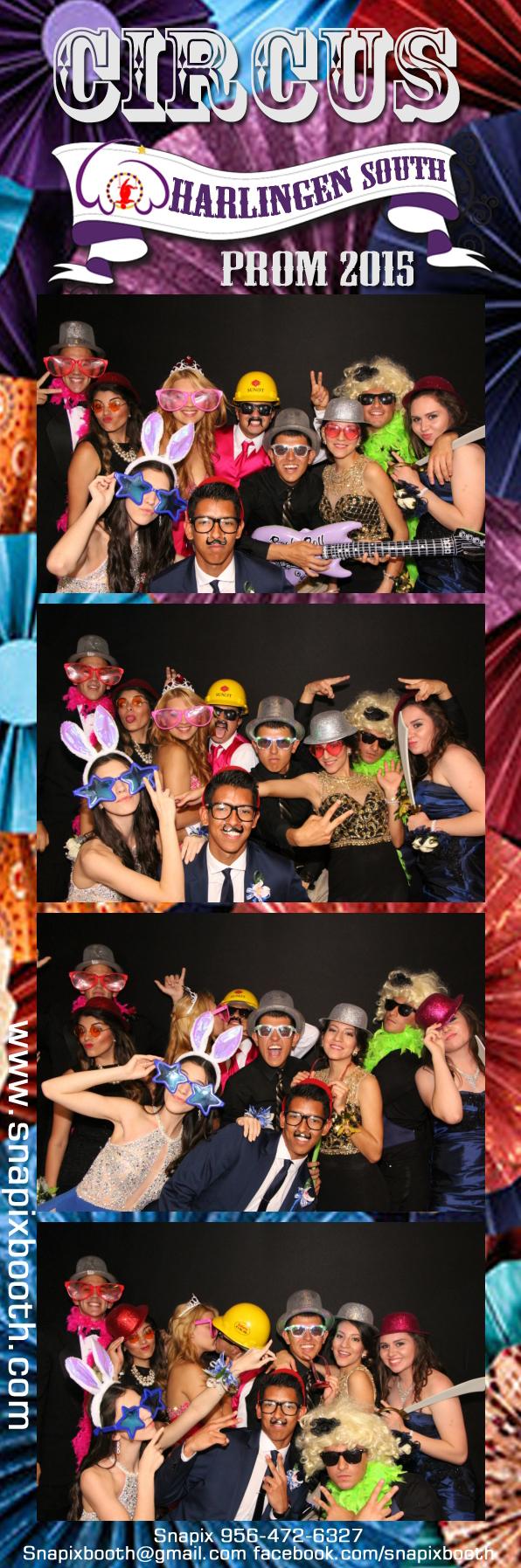 Harlingen South HS Prom 2015