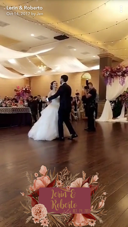 Wedding Snapchat Filters