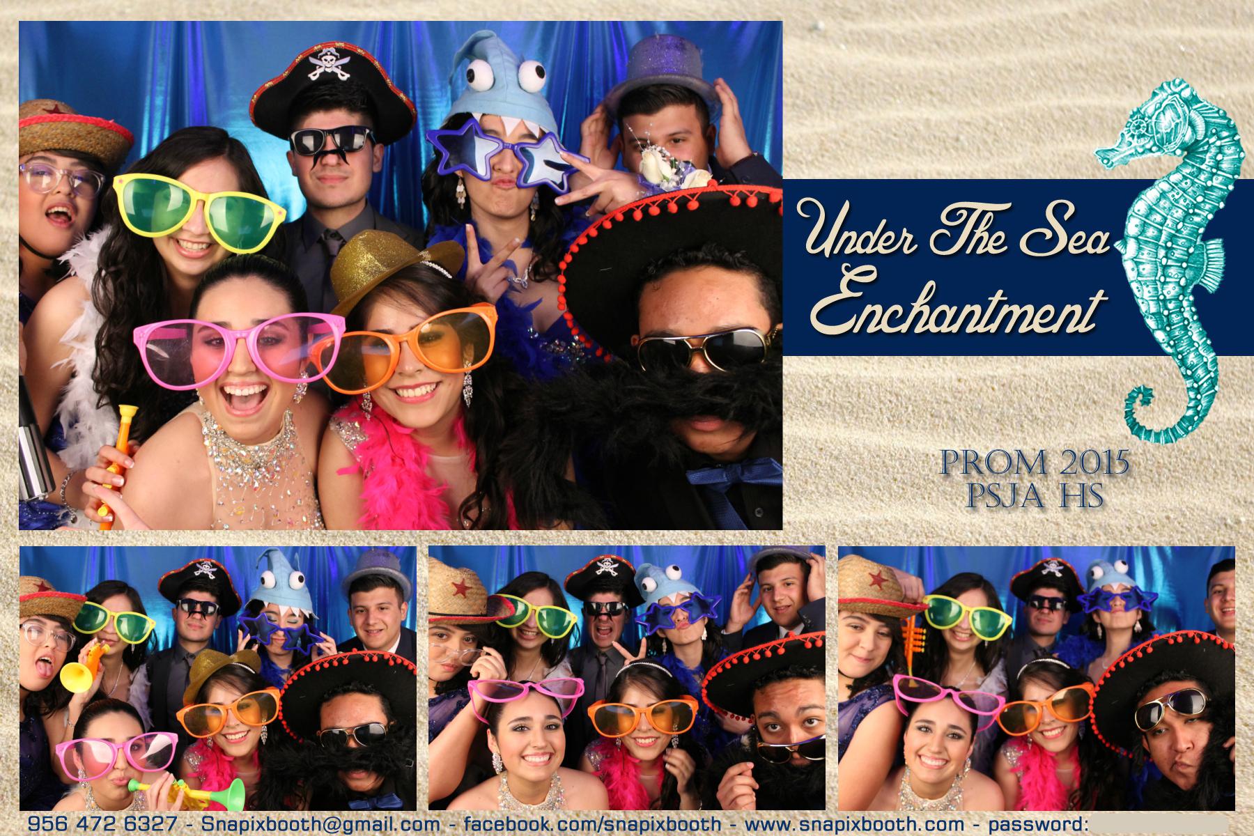 PSJA HS Prom 2015