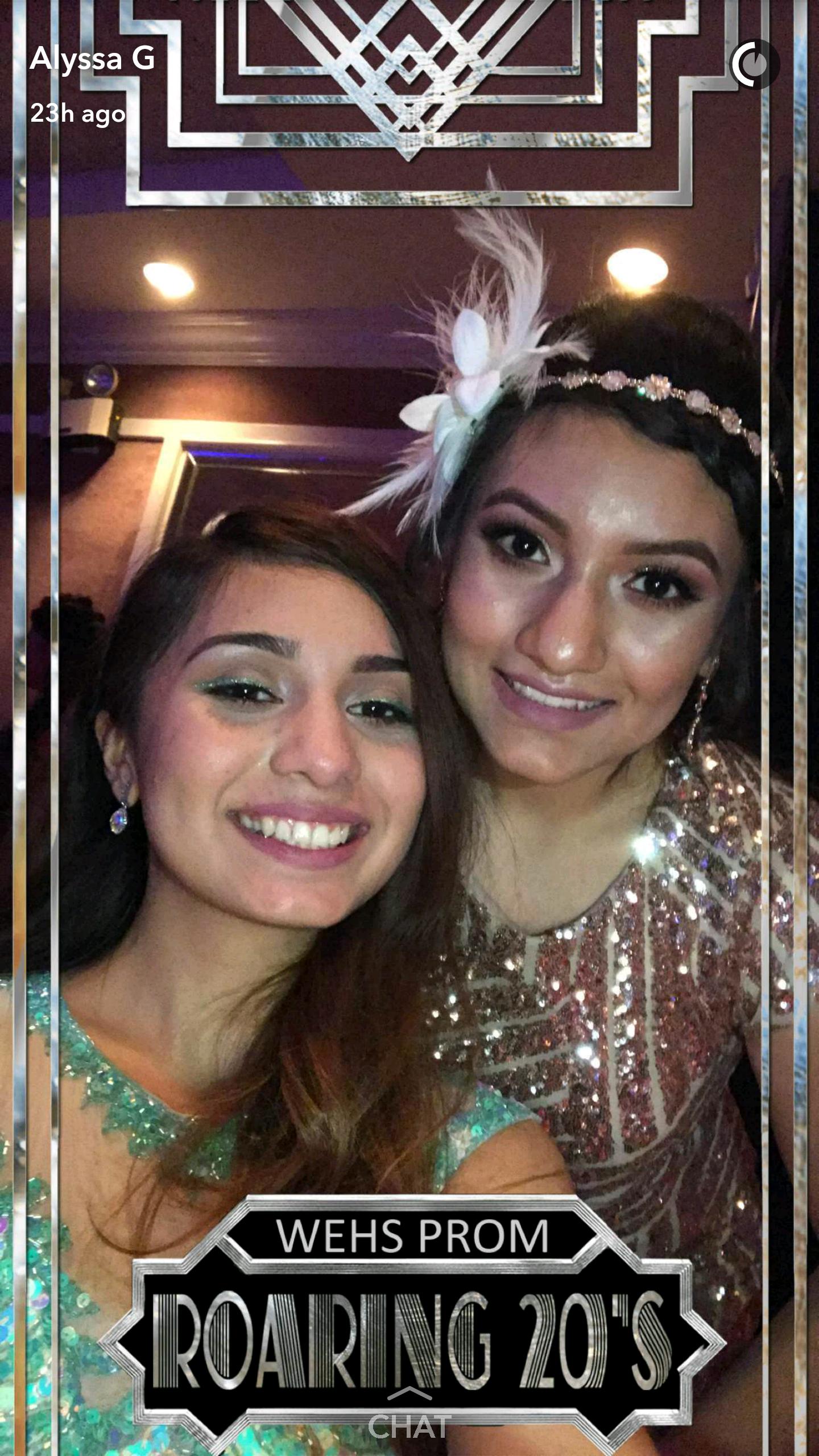 Roaring 20s Prom Snapchat Filter