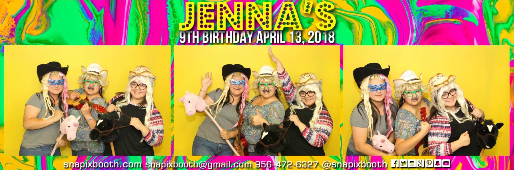 Jenna's 9th Birthday