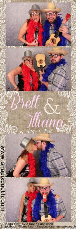 Brett & Illiana Wedding