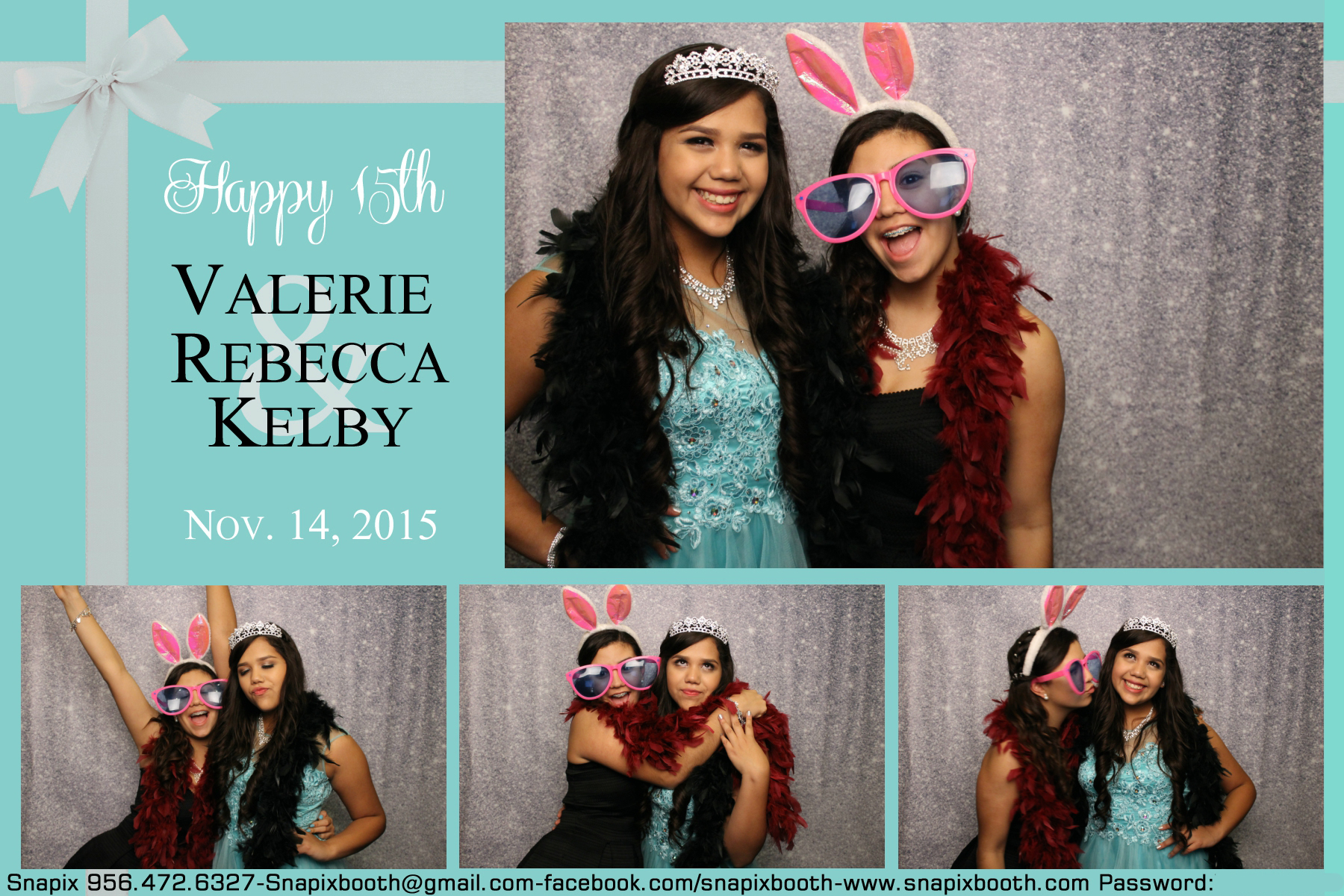Valerie, Rebecca, Kelby 15th Bday